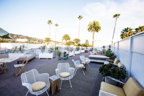 Hotel Beverly Terrace: Roof Terrace