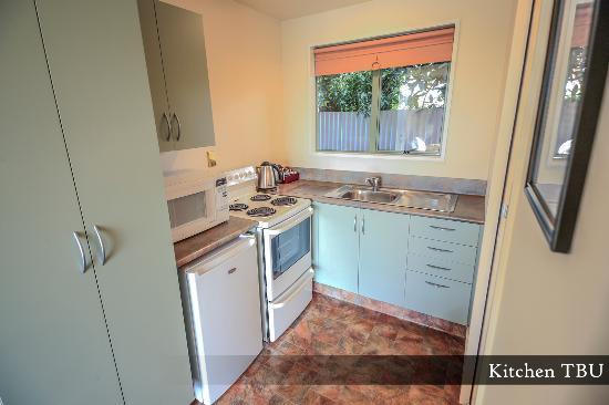 Timaru, Selandia Baru: Two Bedroom Unit - Kitchen