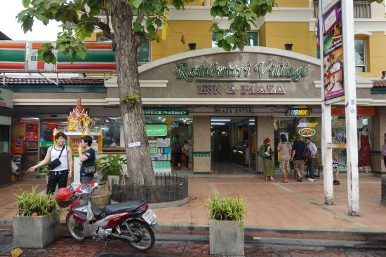 Rambuttri Village Inn & Plaza: Rambuttri
