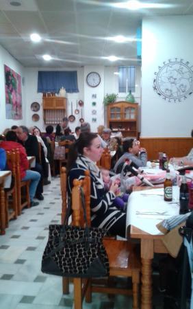 Provincia de Córdoba, España: salon comedor
