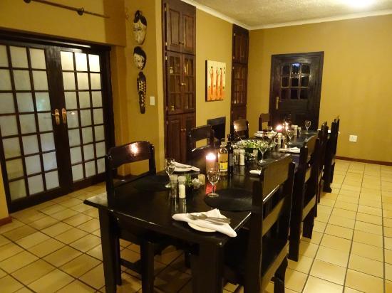 Benoni, Sør-Afrika: Dining room