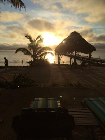 Xanadu Island Resort: sunrise from our room!