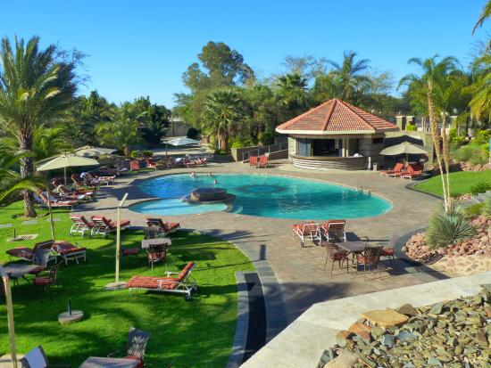 Safari Hotel: Anlage /Pool