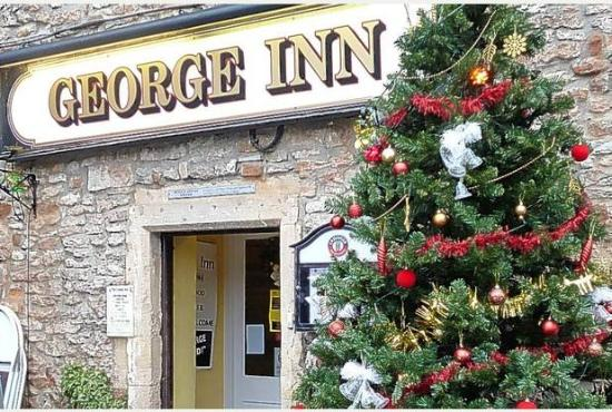 Christmas Welcome to the George Inn, Croscombe, near Wells