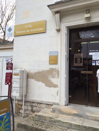 Sceaux, Francia: Крыльцо