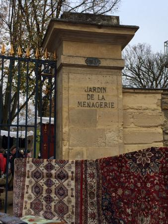 Sceaux, Francia: Вход в парк
