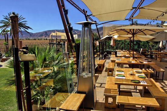 Fuego Restaurant Lounge Vistas A Viñedos