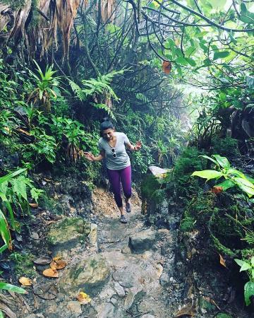 Saint-Claude, Guadeloupe: La Soufrie (near Vert INtense) same type of hiking