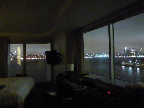 corner view room at night panoramic views picture of w