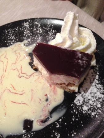 Comerio, Itália: Cheesecake