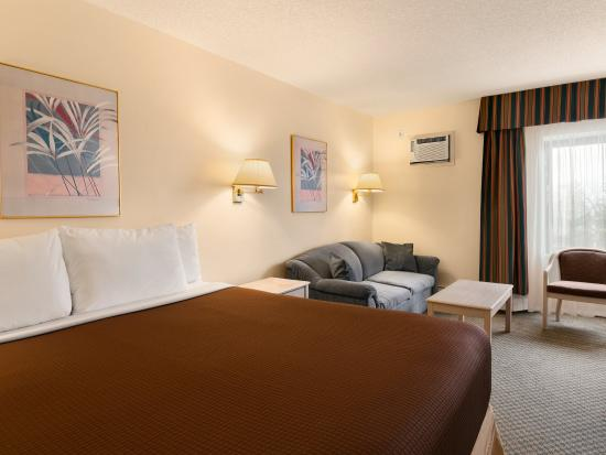 Travelodge Calgary University: 1 King Bed Room
