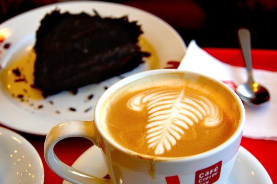 кофе picture of cafe coffee day colva tripadvisor