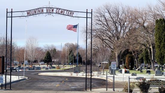 Mountain View Cemetery, Mountain Home, Idaho
