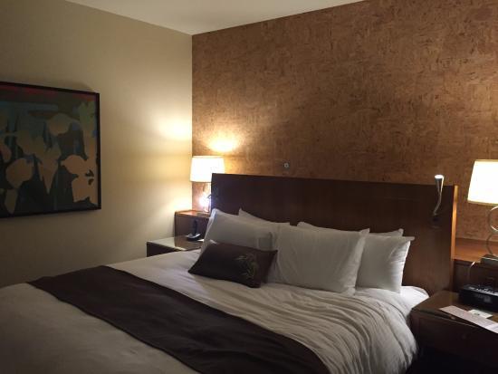 Miyako Hybrid Hotel: ベッド