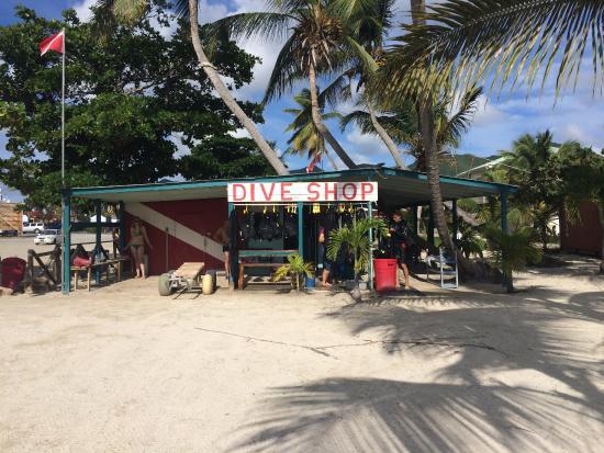 Simpson Körfezi, St-Martin / St Maarten: Dive shop