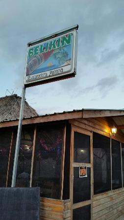 Consejo, Belice: Buccaneer Palapa Restaurant