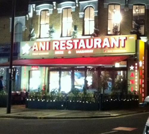 Ani Restaurant Winchmore Hill Reviews