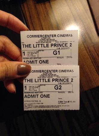 Muntinlupa, Filippinene: Movie tickets
