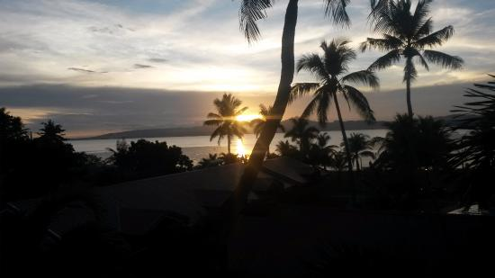 Sabin Resort Hotel: Sonnenuntergang