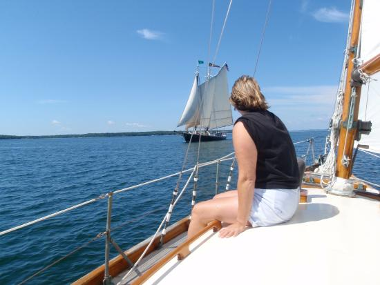 Southwest Harbor, ME: Cruising around the harbors