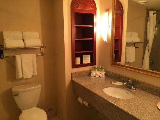 Holiday Inn Express Hotel & Suites Belleville : Executive King Bathroom