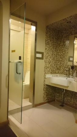 Yoyo Hotel: 透明浴廁門