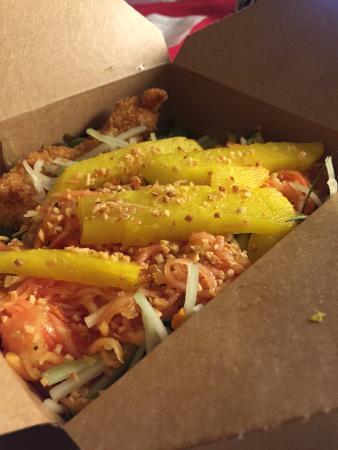 Chicken Katsu Salad - Picture of Hai Street Kitchen & Co ...