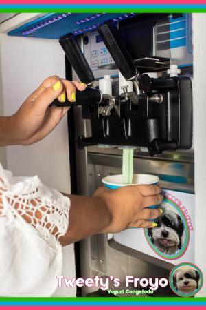 Esteli Department, نيكاراجوا: Yogurt congelado!