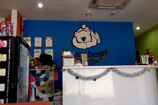 A Beary Good Hostel: lobby