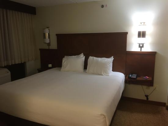 Hyatt Place Raleigh-Durham Airport: Bedding... COZY!!!