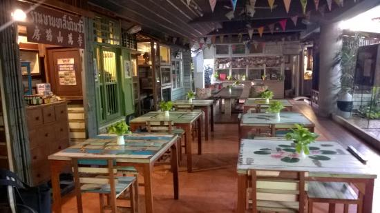 Phranakorn-Nornlen Hotel: โซนรับประทานอาหาร