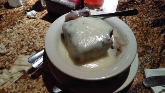 TWO FROGS GRILL: Chocolate Bread Pudding