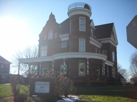 Barnesville, OH Victorian Mansion