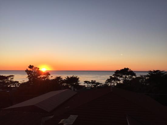 La Playa Carmel: Sunset over Carmel