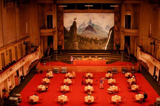 Auditorium - Picture of The Grand Budapest Hotel, The Republic of Zubrowka - ...