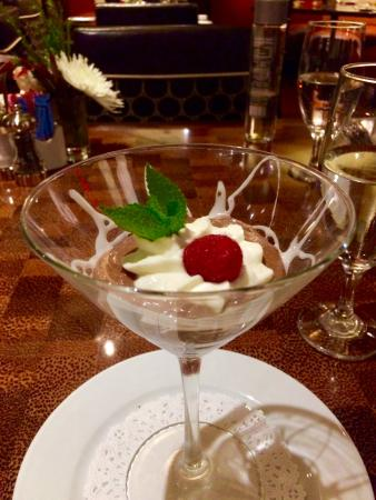 Pecan Grill at the Overton Hotel : Chocolate Mousse Martini