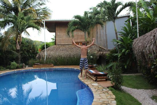 Lucero Surf Retreats: Pool time