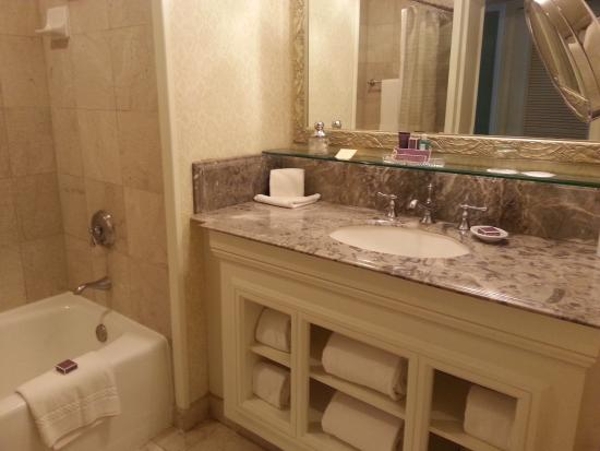 The Ritz Carlton  San Juan  Standard bathroom. Standard bathroom   Picture of The Ritz Carlton  San Juan  Isla