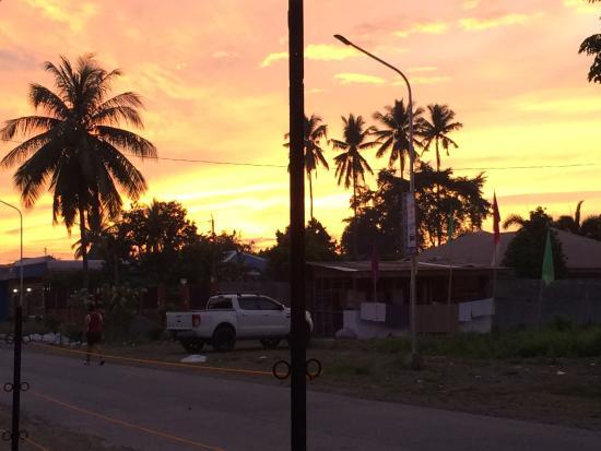Digos City, ฟิลิปปินส์: Sunrise view