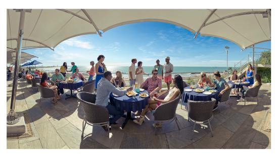 The Coachman Restaurant: A Deck with a view