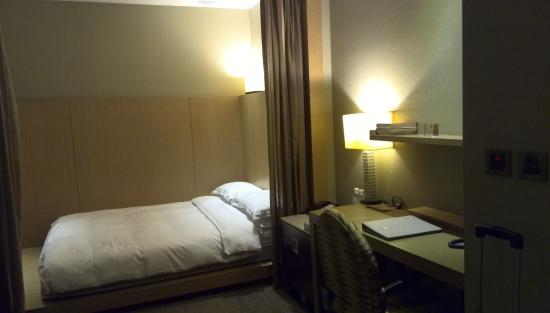 City Suites Taipei Nanxi: 客室 窓なし