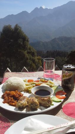 Sapa View Restaurant: Dining with a view