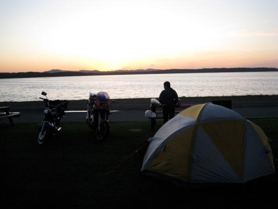 Hamatonbetsu-cho, Japan: 湖畔キャンプ場