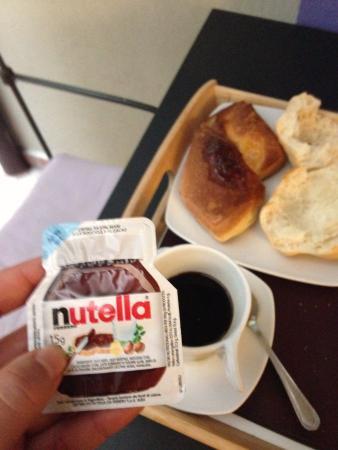 Relais Palazzo Taverna : continental breakfast