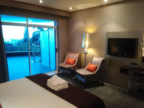 Coastlands Musgrave Hotel: Room with double bed
