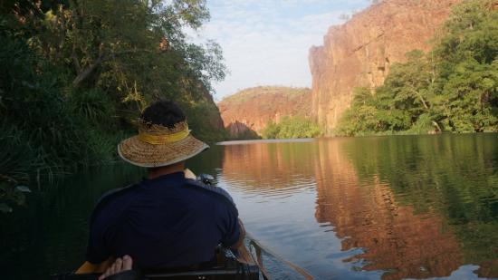 Boodjamulla National Park, ออสเตรเลีย: Lawn Hill Gorge - a nice paddle