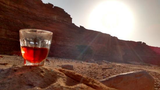 Sinai Safari - Day Tours: Tea after breakfast