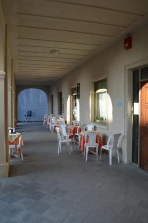 Serralunga di Crea, Italia: PATIO