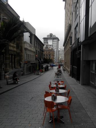 Vulcan Lane: Open space restaurant
