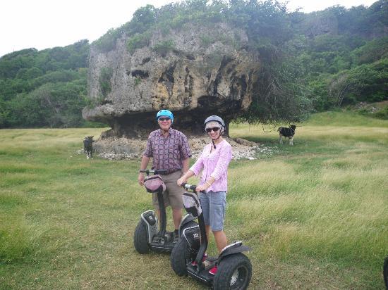 Segway Barbados : Mushroom Rock